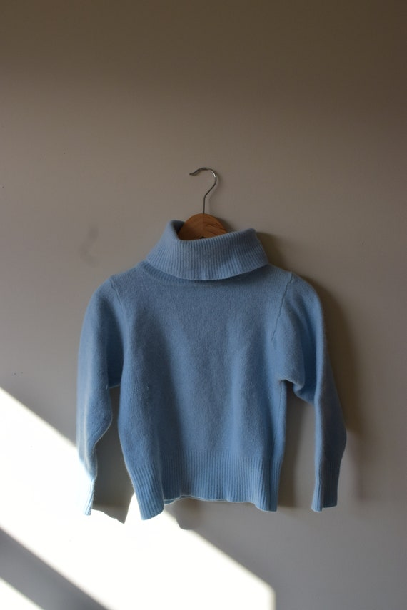 Lambswool & Angora Turtleneck