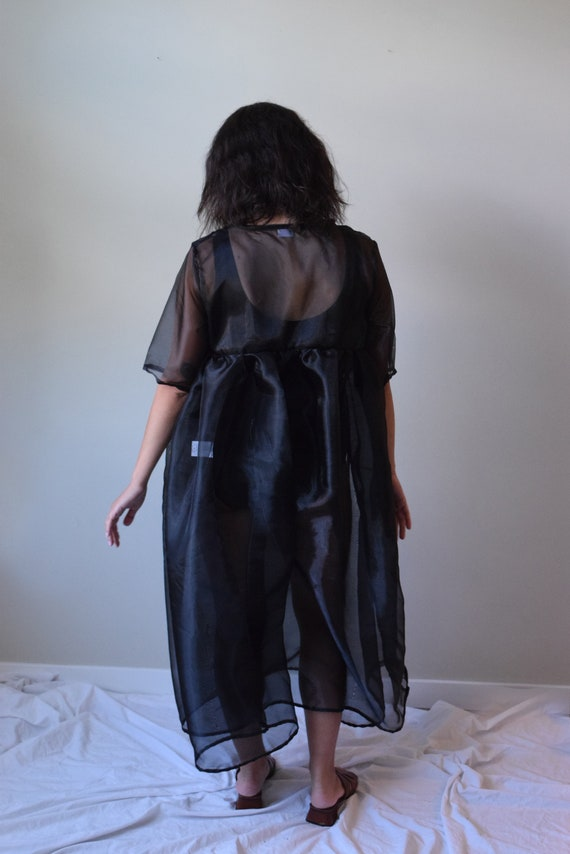Sawyer Black Organza Dress