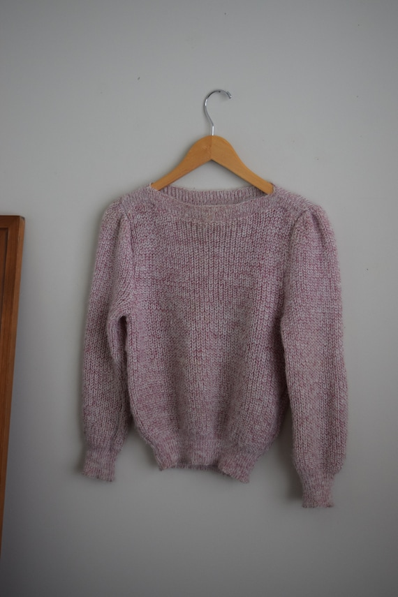 Heathered Rose Pull Over