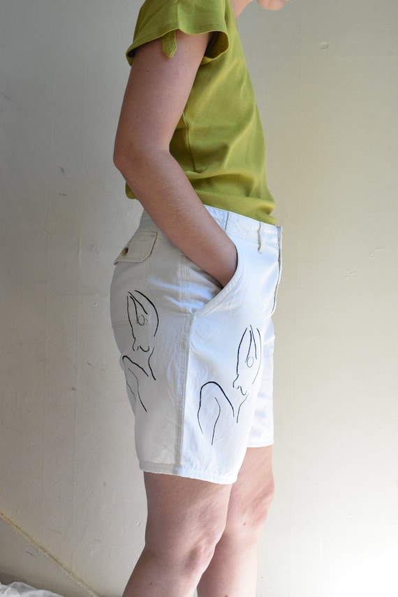 Meridian Woman White Shorts