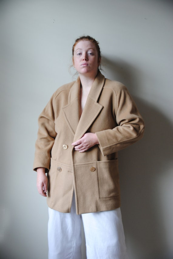 London Fog Camel Hair Coat