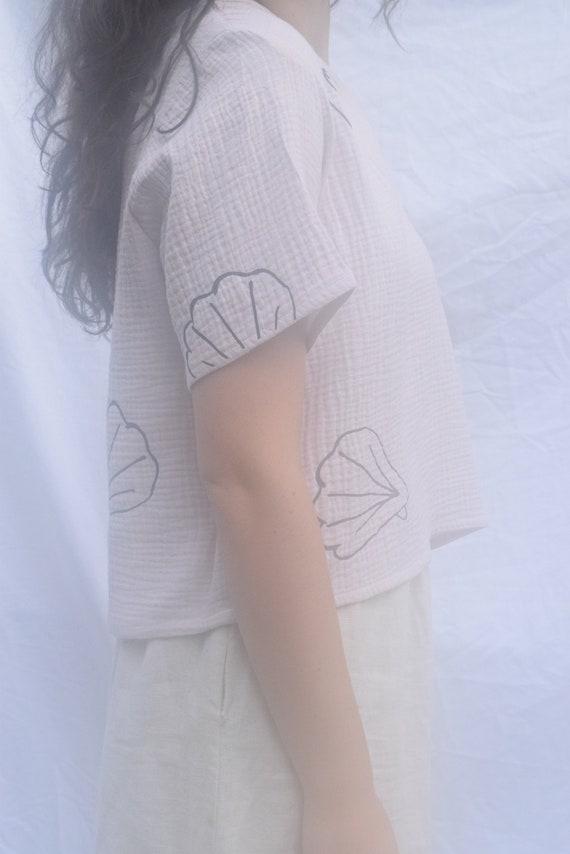 Tilda Tee Blush  |  Print Optional