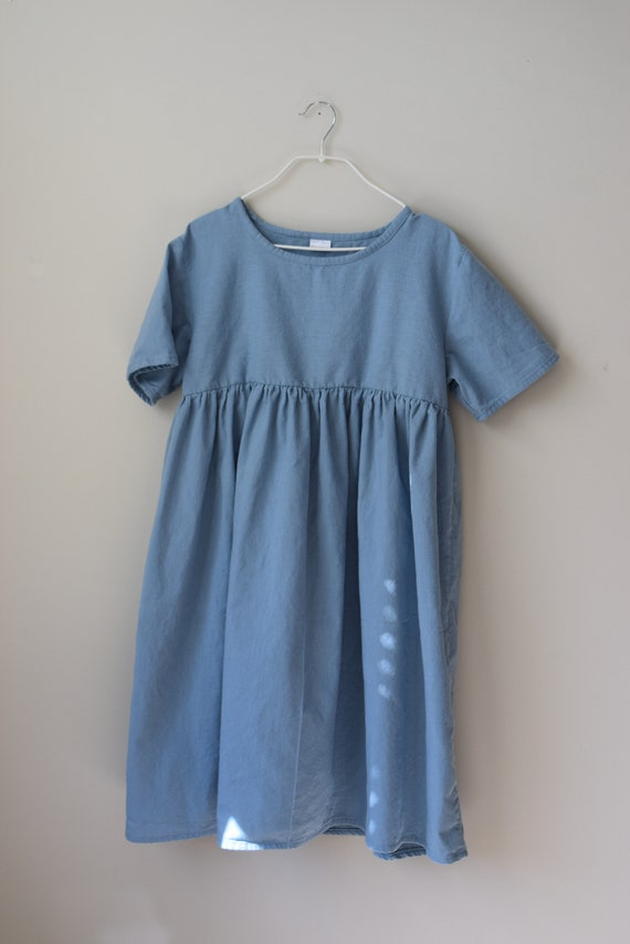 Slate Blue Sawyer Sample Dress