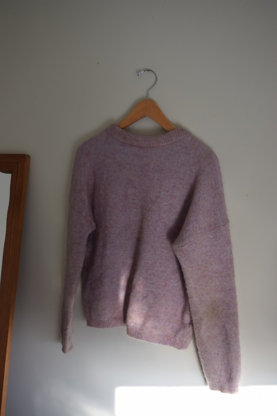 Lilac Mohair Pull Over