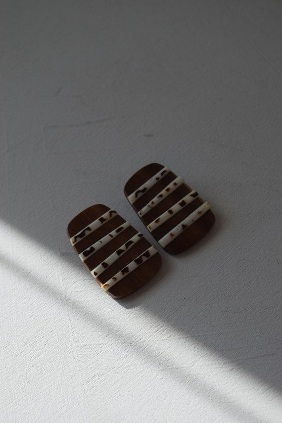 Striped Wood Studs