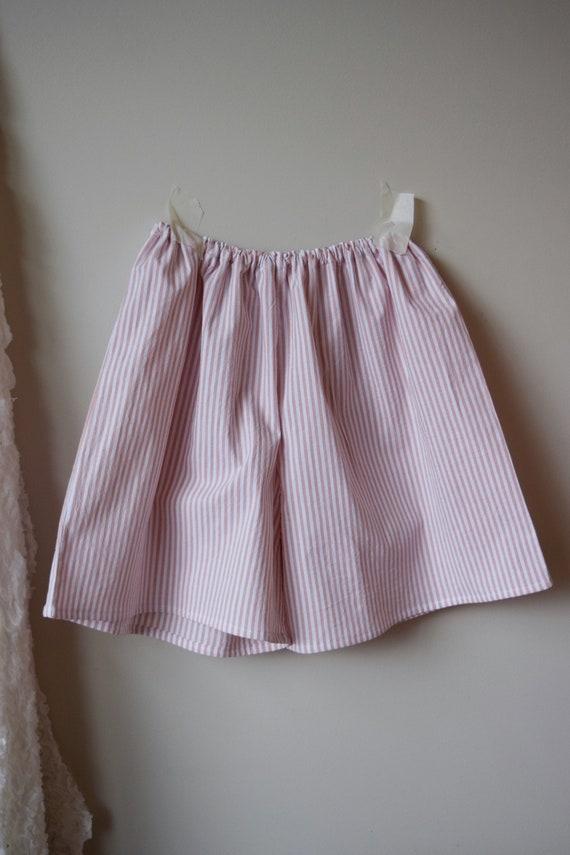 Pink Pinstripe House Short