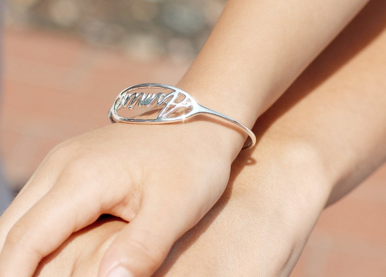 unique baby gift Kid/'s Adjustable Bangle Infant Jewelry Personalized Baby Gifts Baby Bracelet Child Size Bracelet