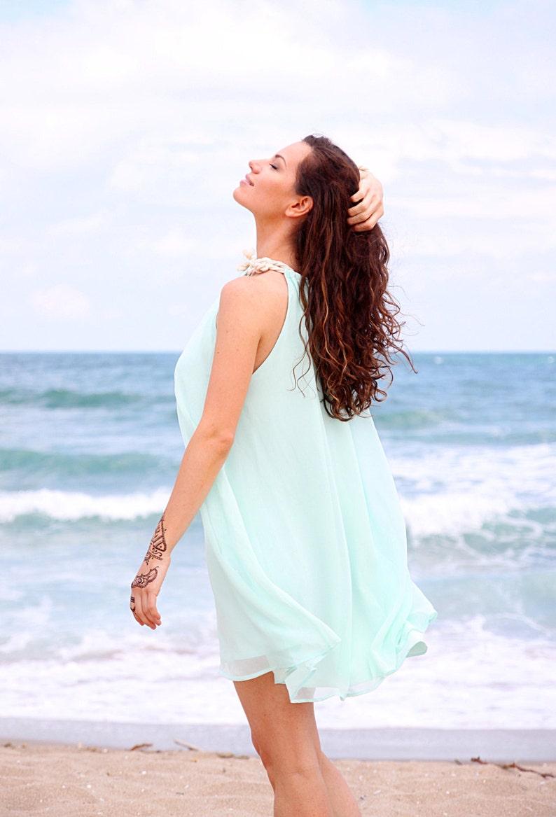 f1a1aa607762a4 NIEUWE droom Chiffon jurk Vintage zomer jurk Boho kleding
