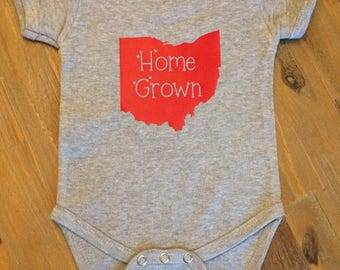 Home Grown Onesie; All States Available