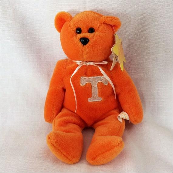 Tennessee Vols 1999 Basketball Fan Beanie Bear