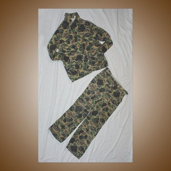 Camouflage Hunting Jacket and Pants 1970s SafTBak
