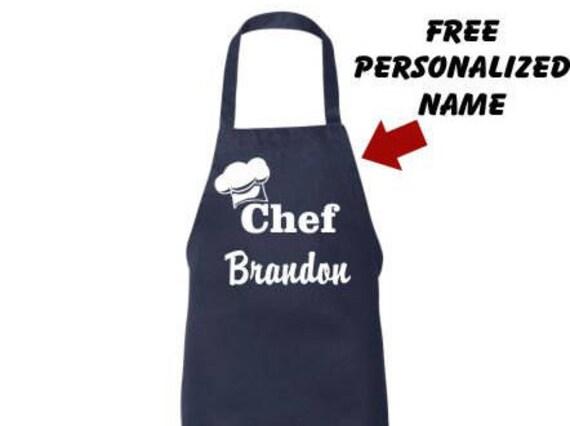 Personalized Apron Custom Mens Chef