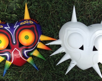 Majora's Mask Replica and Cosplay Mask (Painted, or Unpainted)