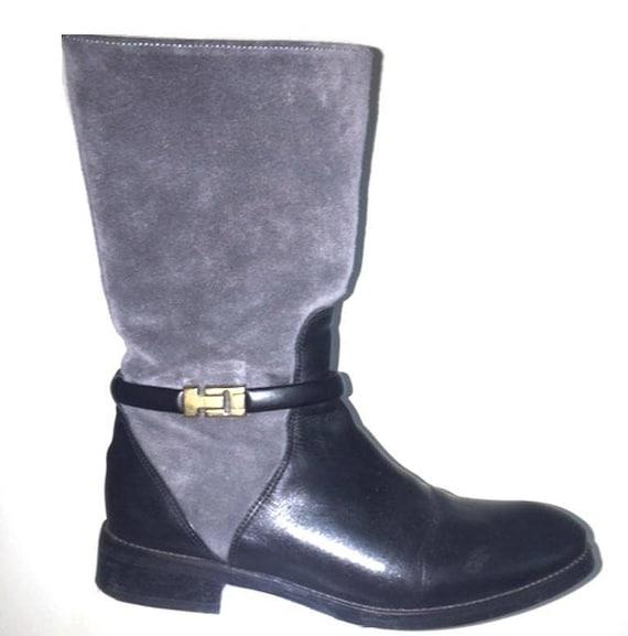 e796faea8 Tommy HILFIGER Leather Suede Boots UK Size 6 EU 39 Gorgeous