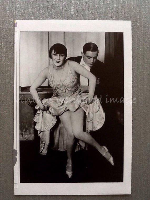 roaring twenties dancers photo art print 1920s flappers weird etsy