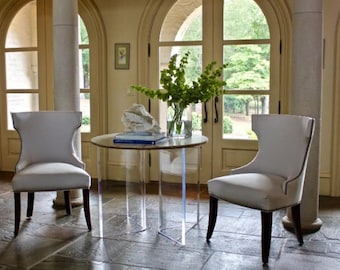 Lucite Dining Table Etsy