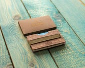 Wallet / Wooden money clip