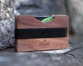 RFID BLOCKING Personalized wallet, Money clip, Minimalist Men's Front Pocket Wallet