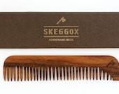 Handmade wooden comb for men!