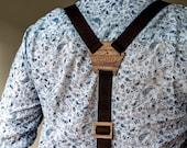 Personalized Wedding Suspenders, Unique Groomsmen Suspenders, Groomsmen gift, Men's braces, Wooden suspenders, Gift for men, Gift for groom
