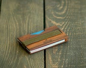 Gift for Boyfriend, Mens Wallet SLIM / Money Clip