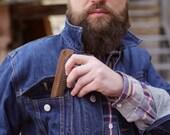 Wooden comb, gift for men, handmade comb, men's gift, men's comb