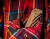 Wooden comb for men