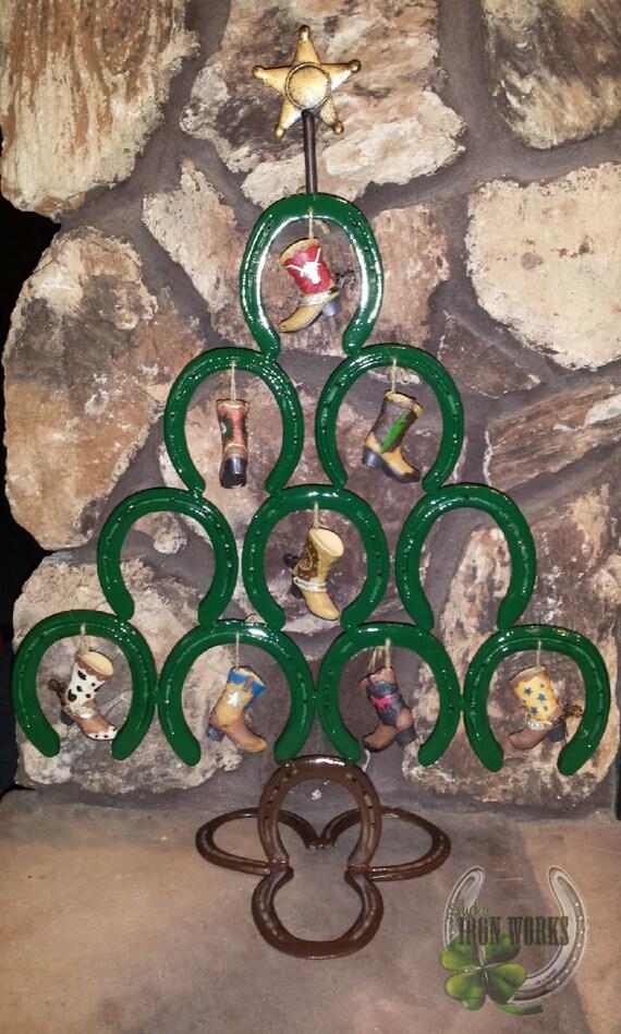 Horseshoe Christmas Tree Etsy