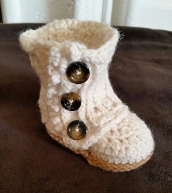 Baby Boots Baby Wrap Boots Crochet Baby Booties Baby Shoes Etsy