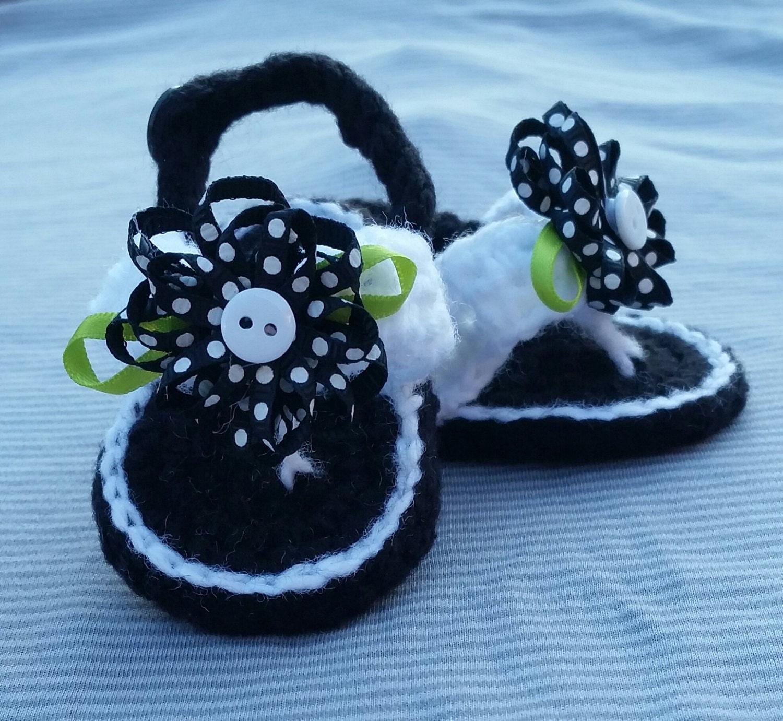 Baby Mädchen häkeln Flip Flops Baby Flip Flops Gehäkelte