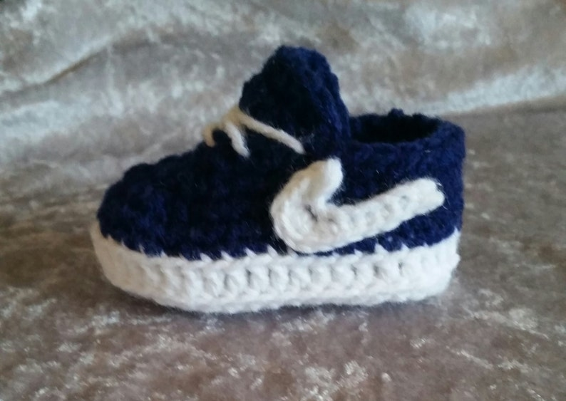 9d964e604 Baby Nike shoes crochet baby Nikes baby tennis shoes baby