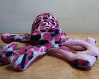 Pink dapple Octopus
