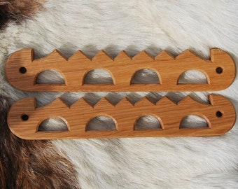 Taschenbügel Haithabu, Type 3, bag handles Haithabu, viking, Eiche