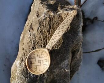Wikingerlöffel, vikingspoon, Gotland, handcarved, vikingreenactment, kolrosing, norse, ironage