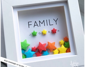 Motivational Stars With Motivational Quotes Hand Folded Stars Lucky Paper Stars Book Quotes Origami Decoration Paper Stars Home Decor