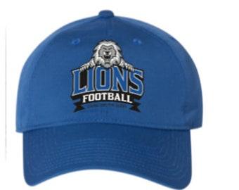 Lions Football 6 panel hat