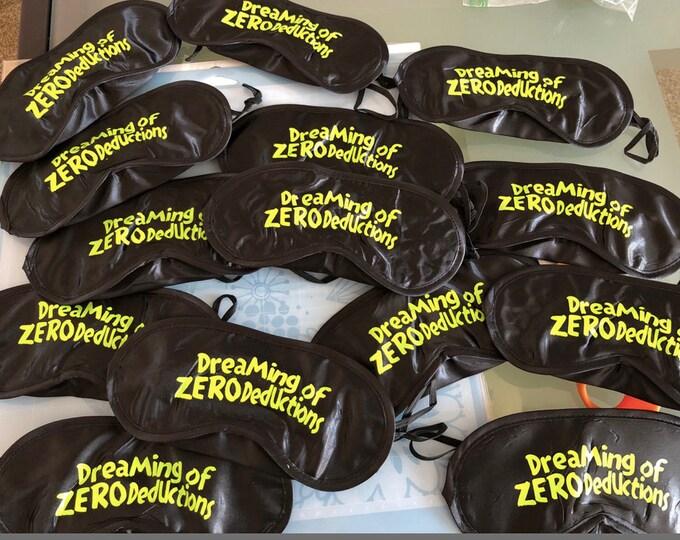 Cheerleading gift // Summit sleep // Good Luck sleep mask // NCA sleep // Cheer sleep mask // cheer gifts // Team gifts //Bachelorette