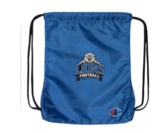 Lions Football Champion Cinch Bag