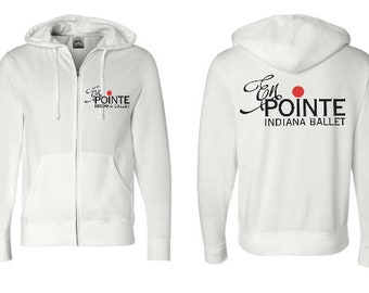 EnPointe Full Zip Hoodie Bella-Canvas Unisex / Youth Sizing