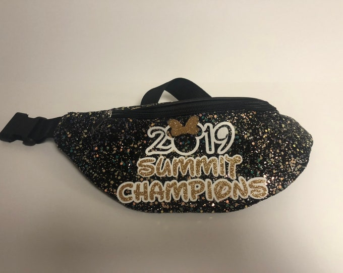 Personalized Disney inspired font Fannypack/ Waist Bag, Hip Pack, Festival Fanny Pack, Monogram Fanny Pack, Any Saying Available
