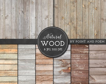 Wood Digital Paper, Natural Rustic wood texture background, old wood, distressed wood texture, scrapbooking, blog, wedding - Commercial Use