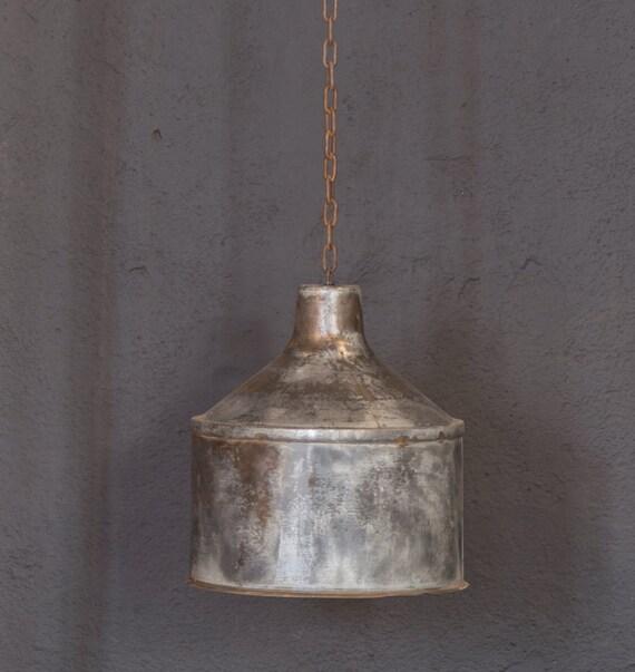Items Similar To Rustic Light Pendant Lighting Pulley On Etsy: Items Similar To Galvanized Light- Rustic Industrial