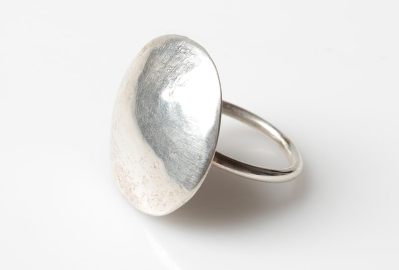 Statement Ring Large Silver Ring Hollow Silver Ring domed silver ring Chunky Ring Chunky Jewellery Chunky Ring Domed ring