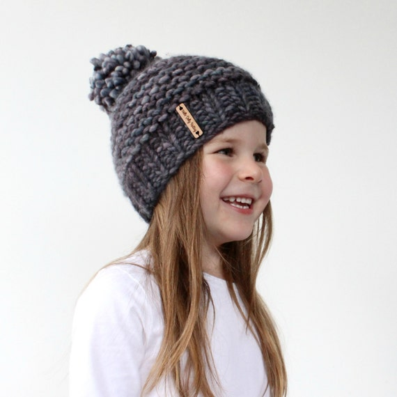 7187c219ca4 ... coupon code for chunky knit hat pattern pdf knitting pattern super  bulky beanie chunky pom pom