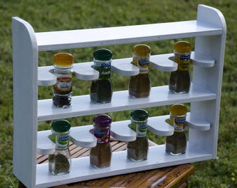 Old reclaimed wood, Spice rack