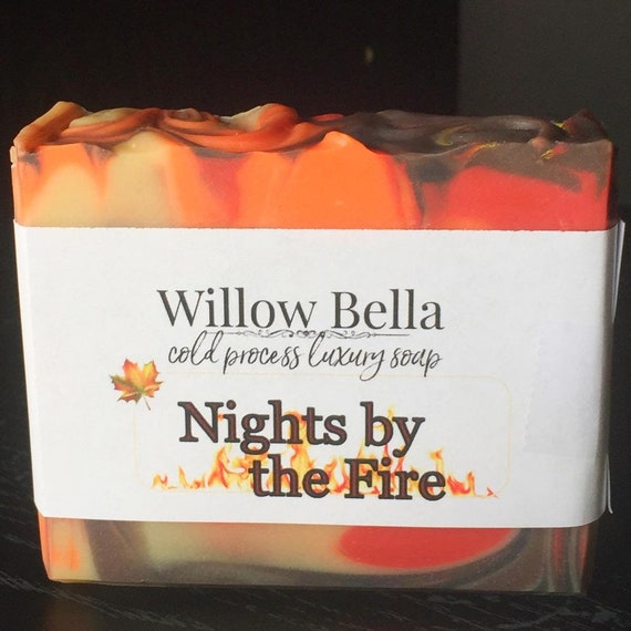 Nights by the Fire Luxury Cold Process Soap