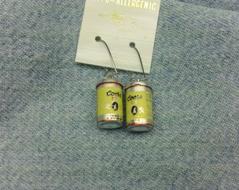 Vintage Coors Cans Earrings (1960's)