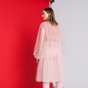 Simple dress Summer dress 0023 Simple Dress Transparent dress Tulle dress Custom Dress