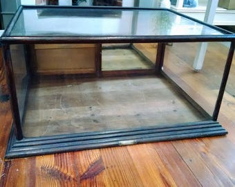 Gentil Vintage McCassey Bros. Store Counter Display Case, Mirrored Rear Slider,  Local Pickup Only In Frederick, Maryland