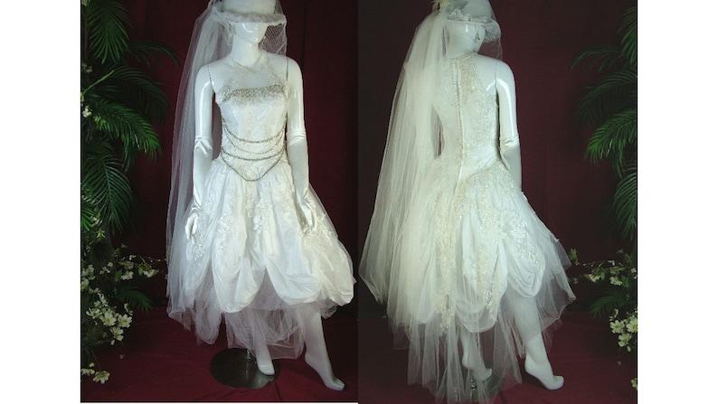 52c8ecd3afc Victorian steampunk wedding dress mardi gras with a small